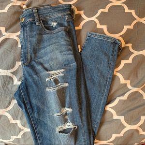 American Eagle High Waisted super skinny Jean